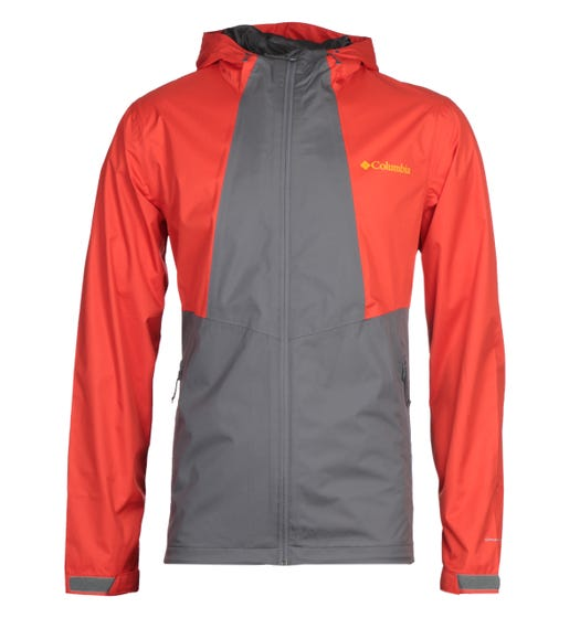 Columbia Inner Limits Red & Grey Jacket