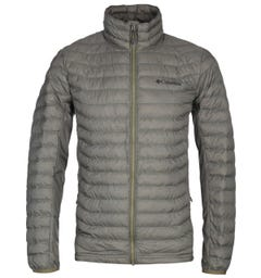 Columbia Powder Pass Forest Green Padded Jacket