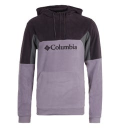Columbia Lodge II Fleece Shale Purple Hooded Sweatshirt