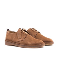 Clarks Originals Cola Desert London Suede Shoes
