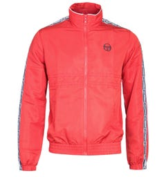 Sergio Tacchini Doral Taped Red Track Jacket