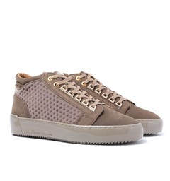 Android Homme Propulsion Mid Brown Nubuck Trainers