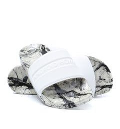 Android Homme Marble White Sliders
