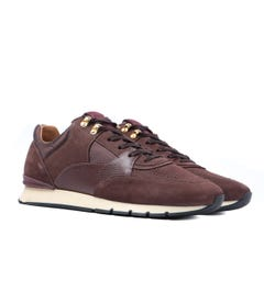 Android Homme Belter 2.0 Brown Leather Trainers