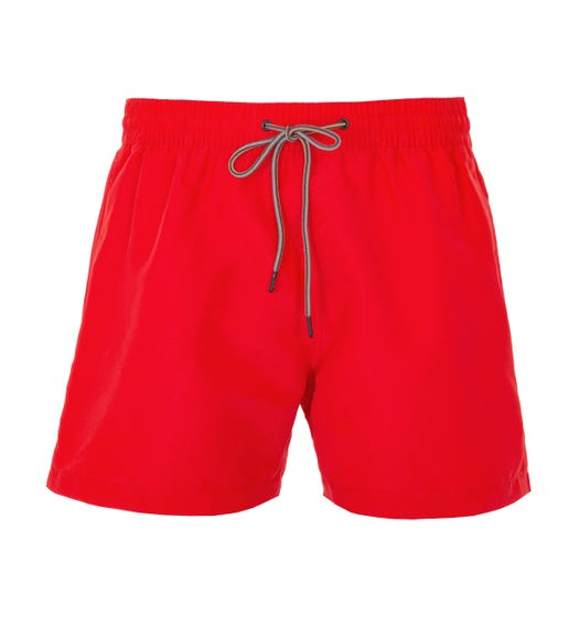 PS Paul Smith Classic Sustainable Swim Shorts - Red