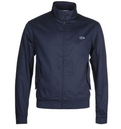 Lacoste Lightweight Navy Zip Jacket