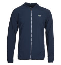 Lacoste Blouson Navy Hooded Jacket
