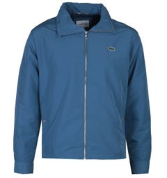 Lacoste Zip-Through Sky Blue Lightweight Jacket