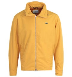 Lacoste Lightweight Yellow Windbreaker