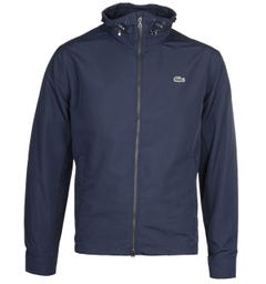 Lacoste Lightweight Navy Windbreaker