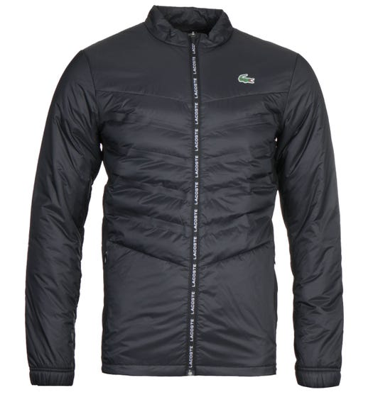 Lacoste Black Zip Through Jacket