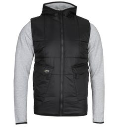 Lacoste Black Hooded Jacket