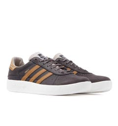 Adidas Originals Munchen Made In Germany Night Brown Leather Trainers