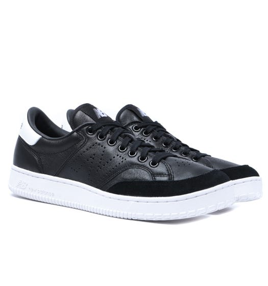New Balance CT400 Black With White Leather Trainers