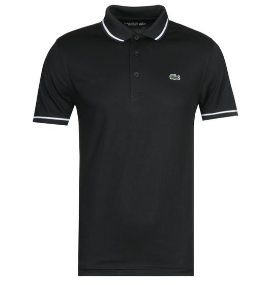 Lacoste Tipped Black MC Homme Polo Shirt
