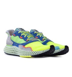 Adidas Originals ZX 4000 4D Blue Tones Trainers