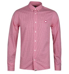Pretty Green Glendale Red Gingham Shirt