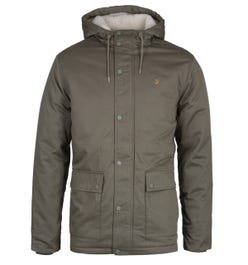 Farah Newhall Olive Green Padded Parka