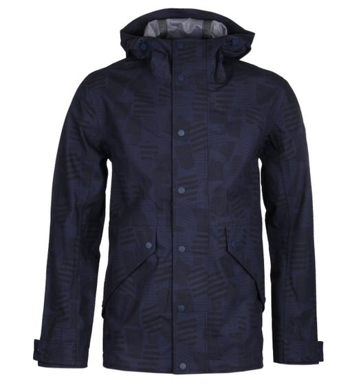 Farah Butcher Midnight Navy Parka