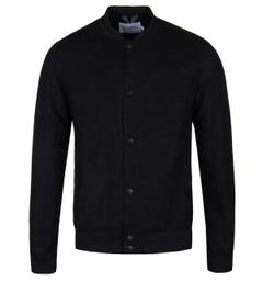 Farah Deep Black Kensington Bomber Jacket