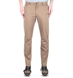 Farah Oak Slim Fit Stretch Twill Beige Chinos