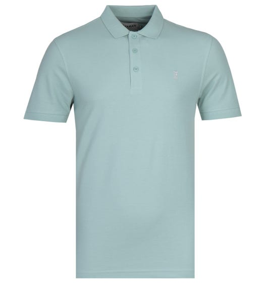 Farah Modern Fit Limited Edition Cove 100 Pastel Green Polo Shirt