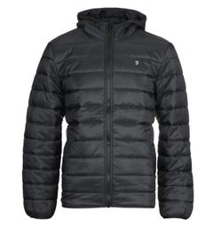 Farah Delano Black Wadded Jacket
