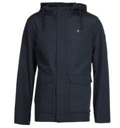 Farah Higgs Hooded True Navy Jacket