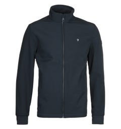 Farah Linstead Softshell Navy Jacket