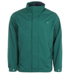 Farah Falkirk Water Repellent Anorak Jacket - Getty Green