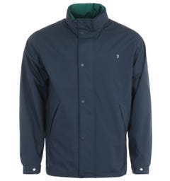 Farah Falkirk Water Repellent Anorak Jacket - Navy