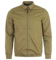Farah Bloomsbury Harrington Jacket - Tobacco