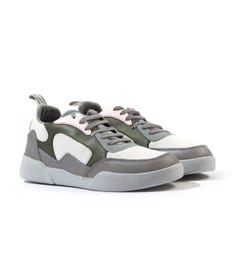 Lyle & Scott Moncur Grey Trainers