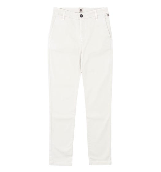Pretty Green Slim Fit Stone Ashby Chino Trousers