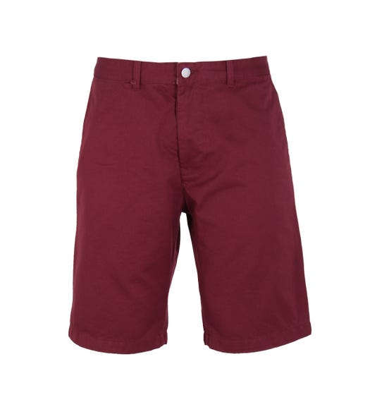Edwin Burgundy Rail Short