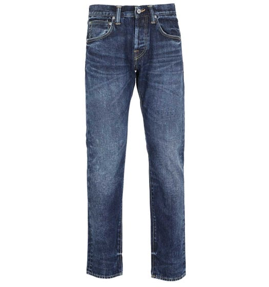 Edwin ED-55 Red Listed Selvage Regular Tapered Indigo Jeans