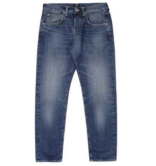 Edwin ED-55 Regular Tapered Unwashed Blue Jeans