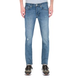 Edwin ED-80 Sky Wash Red Listed Slim Tapered 10.5oz Blue Denim Jeans