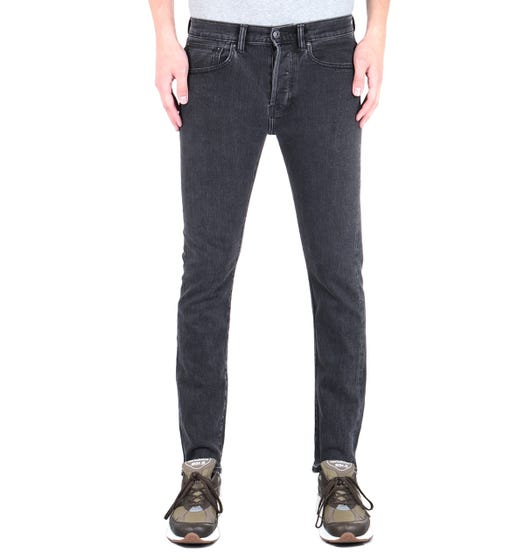 Edwin ED-80 Slim Tapered Washed Black Jeans