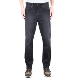Edwin ED-45 Ink Black Loose Tapered 11.5oz Denim Jeans