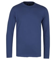 Edwin Terry Blue Crew Neck T-Shirt