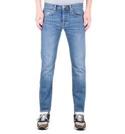 Edwin ED-55 Kingston Regular Tapered 12 Oz Clean Wash Blue Denim Jeans