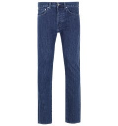 Edwin ED-80 Kingston Blue Denim Slim Tapered Topias Wash Jeans