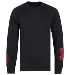 Edwin X Teide Crown & Cross Black Sweatshirt