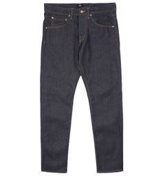 Edwin ED-55 Regular Tapered Blue Unwashed Jeans