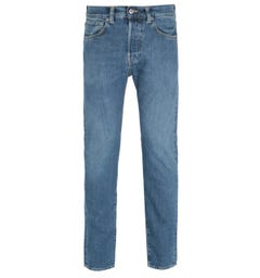 Edwin ED-80 Slim Tapered Blue Azumi Eco Wash Denim Jeans