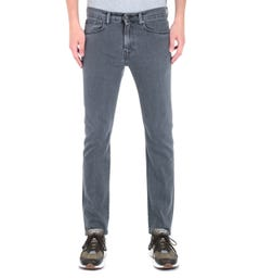 Edwin ED-80 CS Power Black Wash Denim Tapered Bristol Wash Jeans