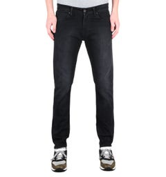 Edwin ED-85 CS Power Black Denim Slim Tapered Jeans