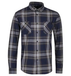 Edwin Navy Blue Labour Shirt