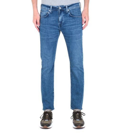 Edwin ED-55 CS Braxton Blue Denim Regular Tapered Eastside Wash Jeans